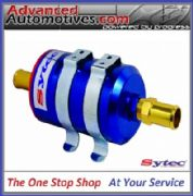 FSE Sytec Anodised Bullet Fuel Filter With 10mm Fittings Post Or Pre Filtering